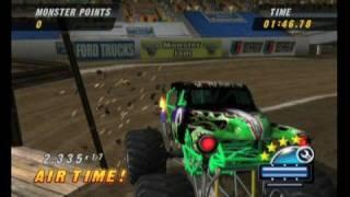 Monster Jam: Urban Assault Monster Truck Video Game Freestyle