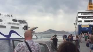 Leaving Naxos to Mykonos