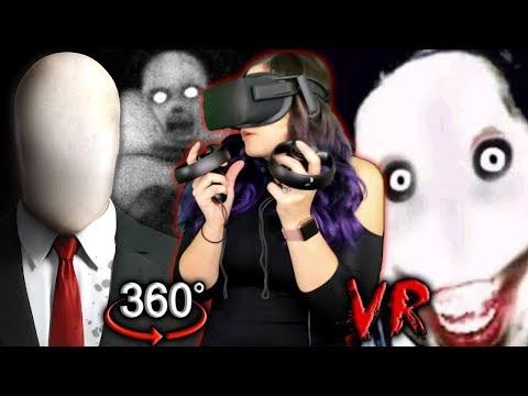 Slender Man In VR?! | Creepypasta 360 Reaction (Scariest So Far)