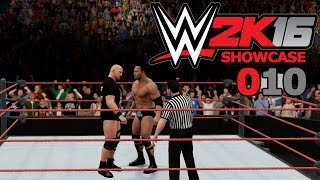 WWE 2K16 SHOWCASE #010: WRESTLEMANIA 15: The Rock vs. Stone Cold «» Let