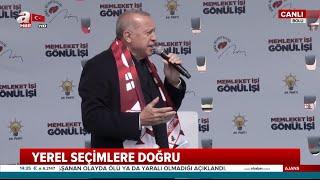 Cumhurbaşkanı Erdoğan, Bolu'da vatandaşlara hitap etti (27 Mart Çarşamba 2019)