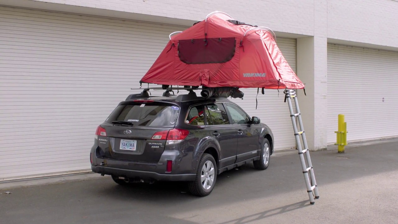 Yakima Skyrise Rooftop Tent Installation Youtube