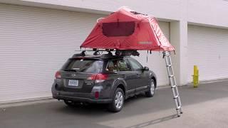 Yakima [] SkyRise Rooftop Tent [] Installation
