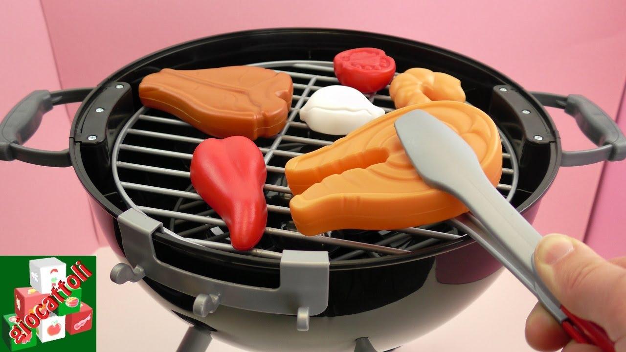 Grill per barbecue con fuoco scoppiettante e carbonella for Griglia per barbecue bricoman
