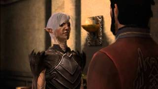 Dragon Age 2 - Romance between Fenris and male Hawke - Hot scene