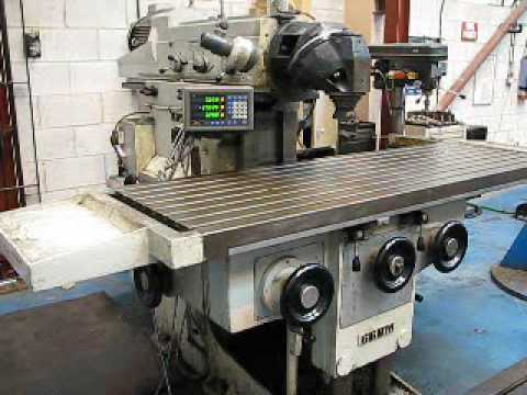 Zayer 66BM Universal Ram Type Milling Machine - YouTube