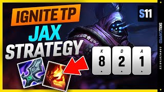 New High Elo Jąx Strategy - Challenger Shows You How To Play Ignite Teleport Jax In Season 11