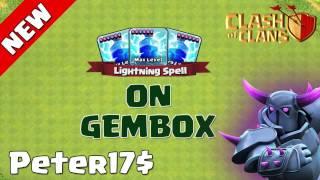 "Clash Of Clans | Peter17$ ""Lightning On Gem Box"" Update Idea!!!"