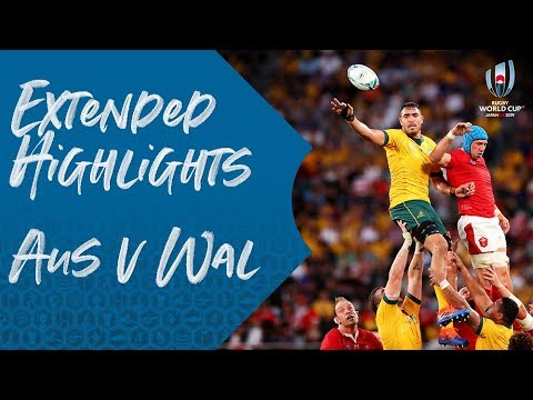 Extended Highlights: Australia 25-29 Wales - Rugby World Cup 2019