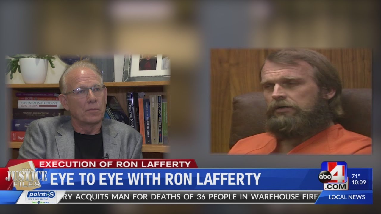 The Justice Files: Eye to eye with Ron Lafferty