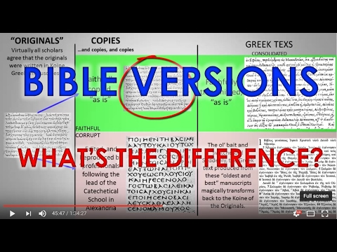Bible Versions: What's The Difference?