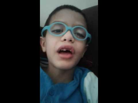The story of the  6 blind men and the elephant by 6 years old child-must watch