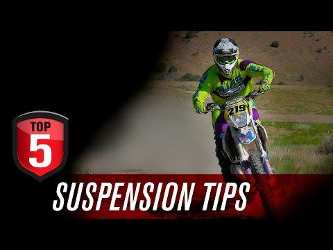 Top 5 Motorcycle Suspension Tips