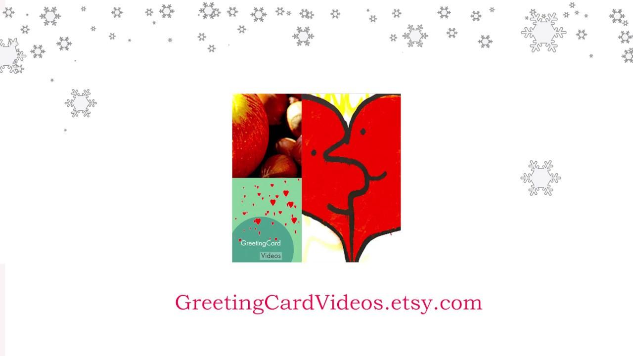 Seasons greeting video card youtube seasons greeting video card m4hsunfo