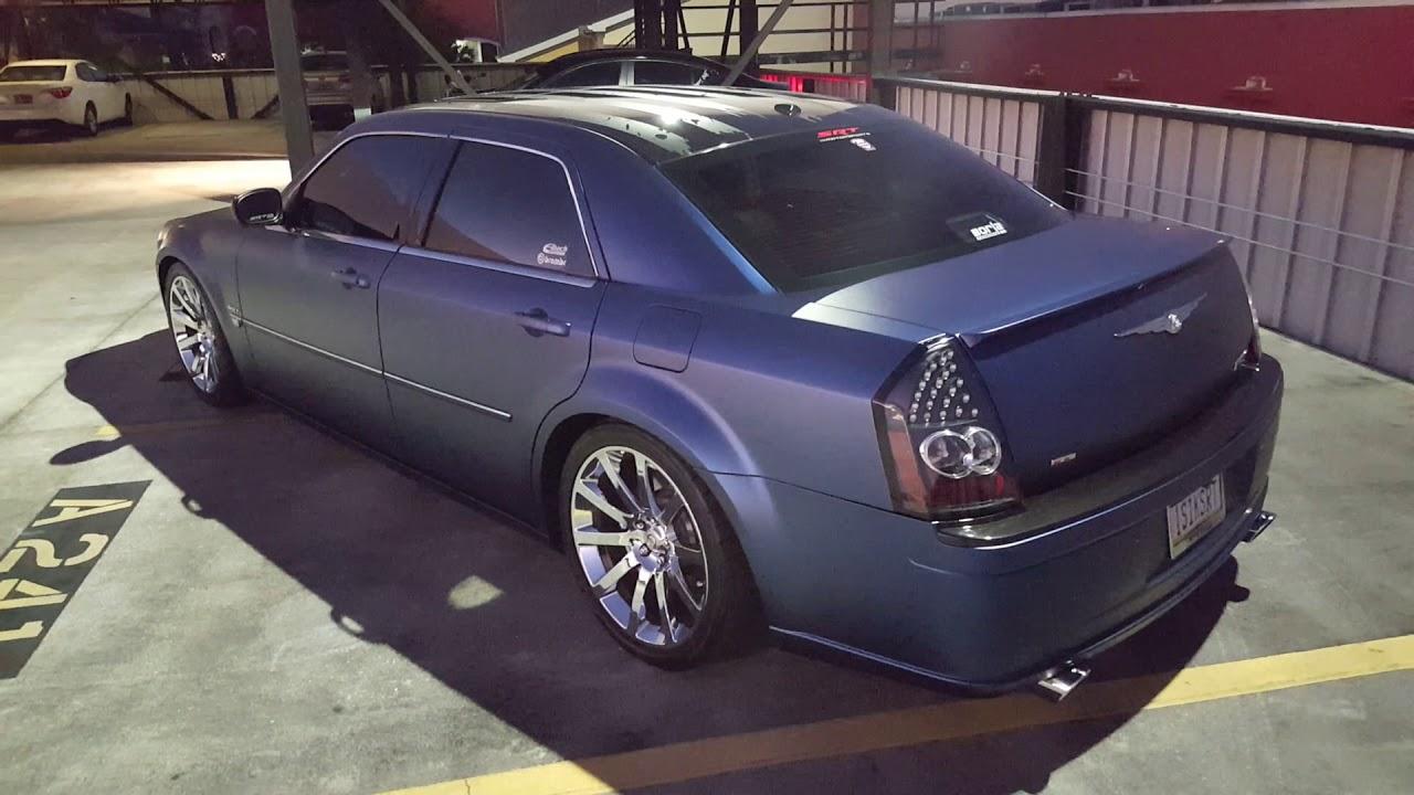 Chrysler 300 Srt8 Trenton Blue Vinyl Wrap Youtube