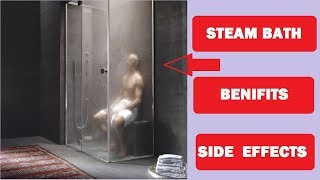 Steam Bath Benefits And Side Effects Info by Prashant Rathod #Fitness Trainer