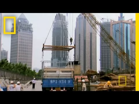 Constructing the Shanghai SuperTower | National Geographic