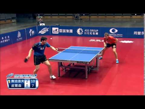 Dimitrij Ovtcharov vs Jörgen Persson  Taiwan Table Tennis Masters 2015