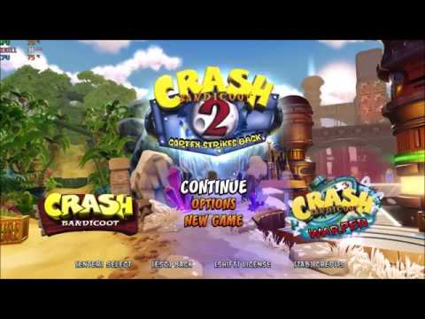 Crash Bandicoot N  Sane Trilogy GTX 1060 6GB | ASUS GL502VM Max settings!
