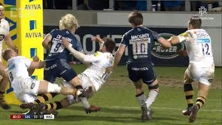 Faf De Klerk KNOCKS OUT Danny Cipriani!