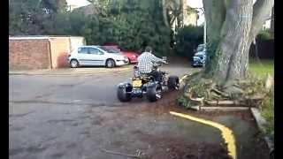 Cool Quad bike drifting unedited