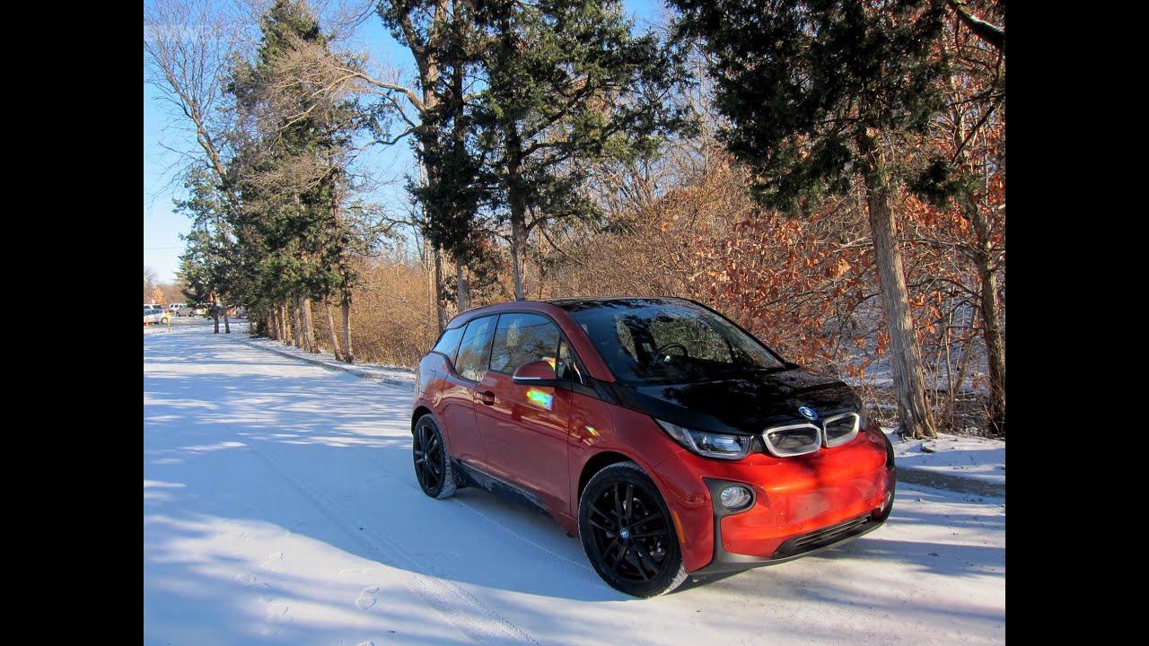 BMW I3 Winter Test Drive