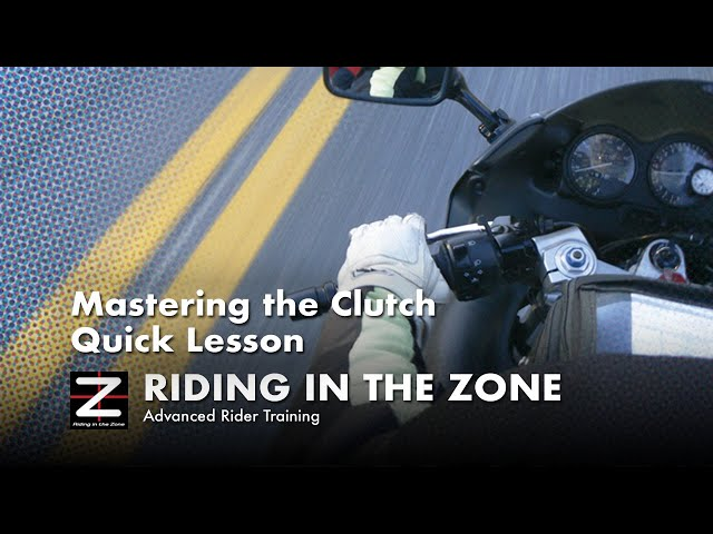 Mastering the Motorcycle Clutch - Quick Lesson