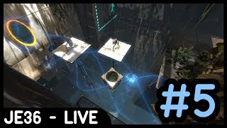 Twitch Livestream Re-upload: Portal 2 Co-Op Mode (w/Liam) | Part 5