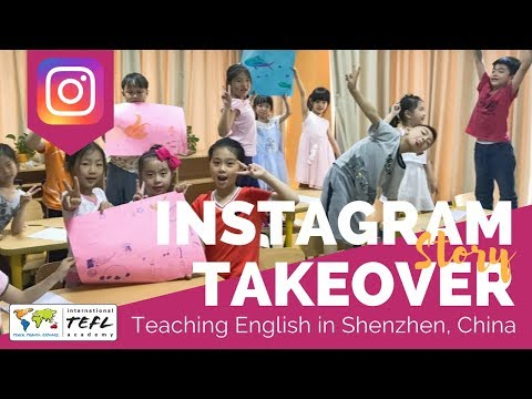 Teaching English in Shenzhen, China #2 - TEFL Social Takeover with Camille Heiden