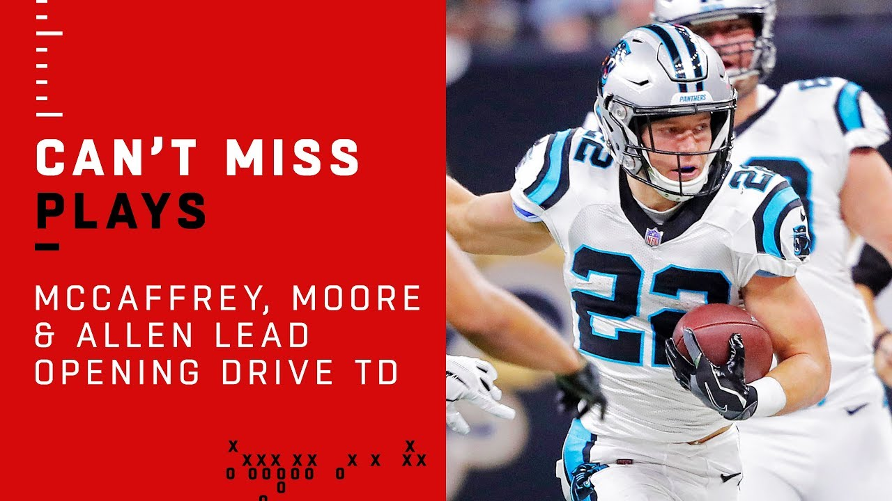 Kyle Allen, Christian McCaffrey make history to keep Panthers winning