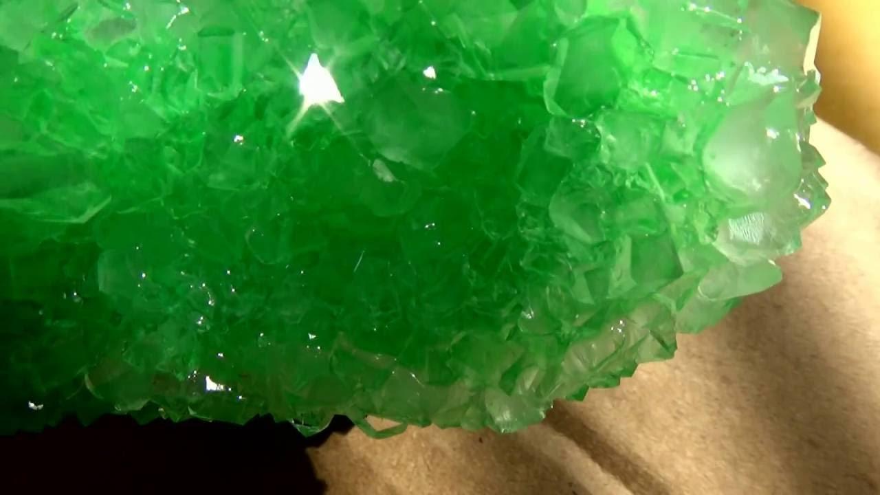 Cukor kristály készítése