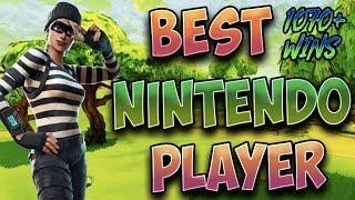 Fortnite Best Nintendo Switch Player 1070+ Wins! (Solos & Members Scrims)