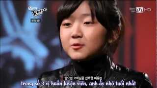 Co be 11 tuoi hat Tomorrow cuc dinh tai The Voice Kids Han Quoc