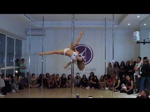 Pole Dance performance by Vlada Zhizhchenko - Fleurie Breathe