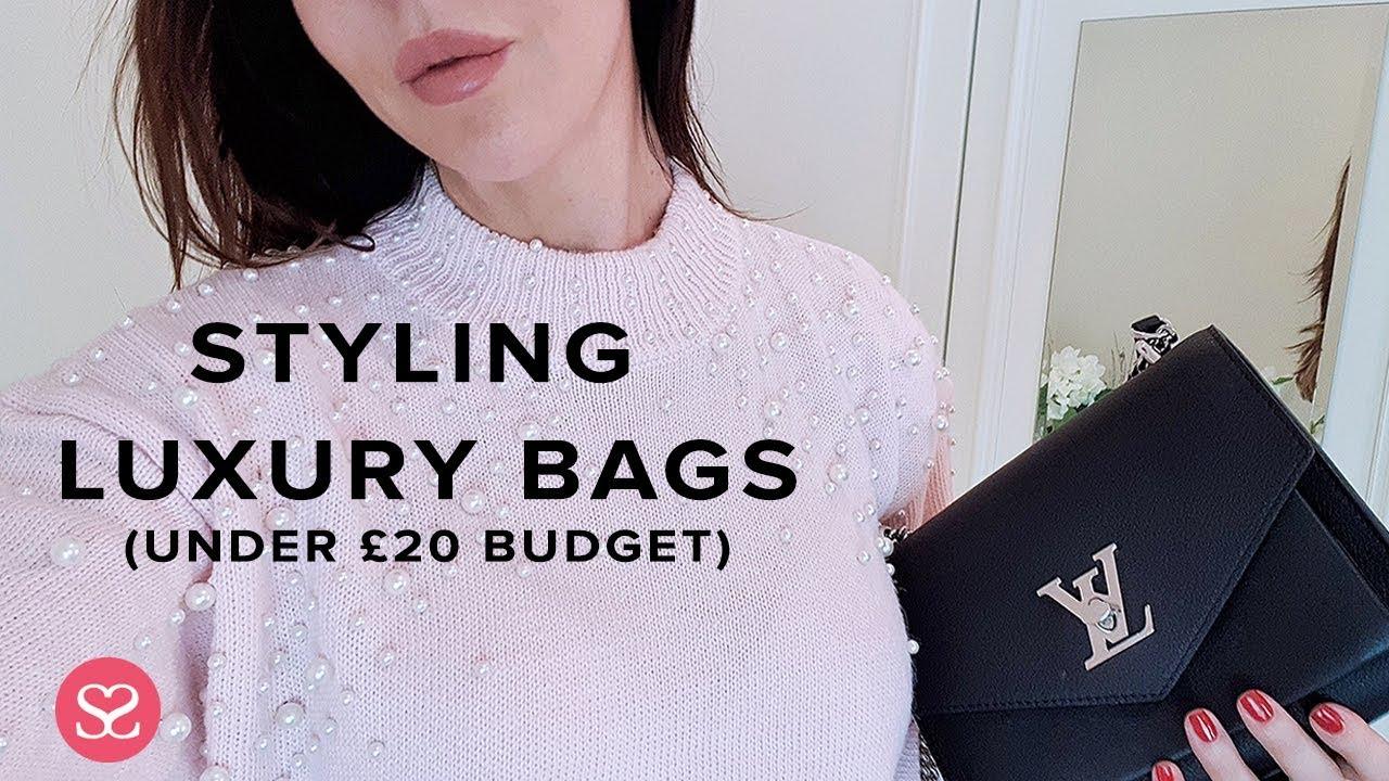 f9f53fbf HOW TO STYLE LUXURY HANDBAGS - UNDER £20 BUDGET!! - YouTube