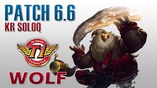 SKT T1 Wolf - Bard Support - KR SoloQ