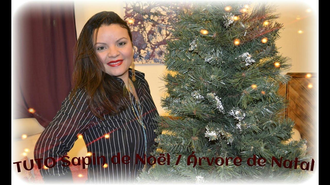 Comment Fixer Un Sapin De Noel part 1 comment monter le sapin de noël / como montar a arvore de natal