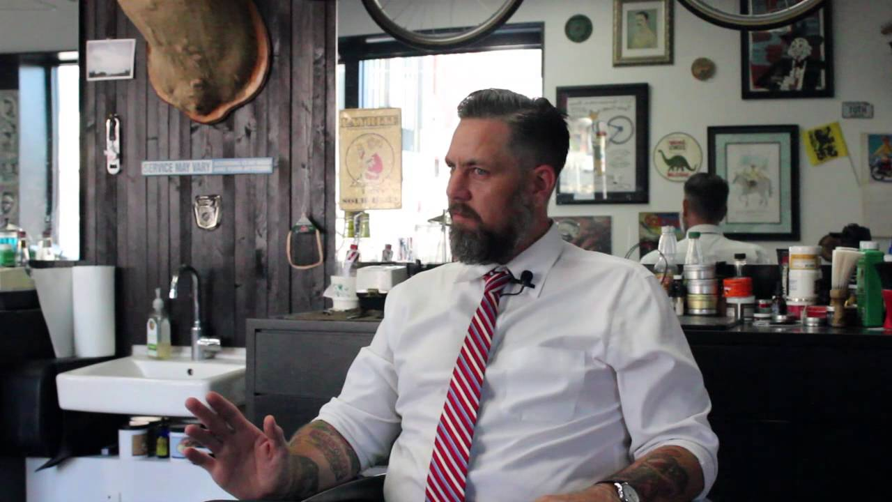 Clint Thomas Of Crown Barber Shop For Fayetteville Youtube