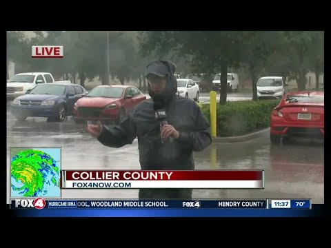 Hurricane Irma conditions worsening in Collier County