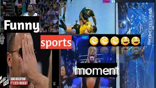 Funny sports moment😂😂