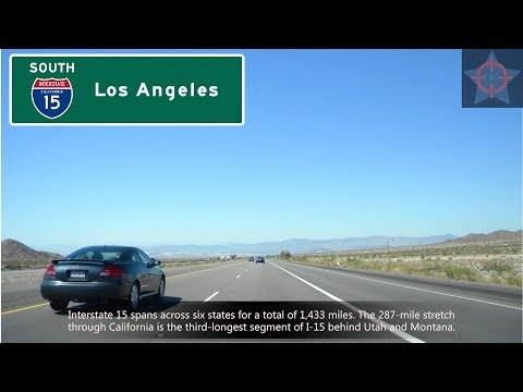 (EXP EP07) I-15 South, Las Vegas to the Cajon Pass