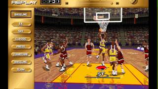 IE 23 PC games review - NBA Live 96 (1996)