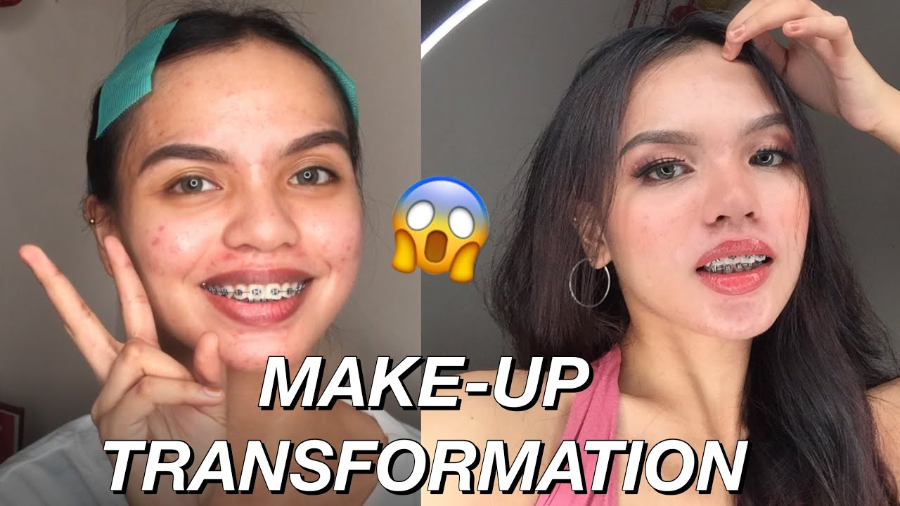 Make-up Transformation ft. focallure cosmetics (10.10 shopee brand sale)