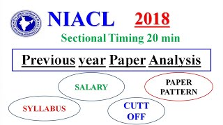 NIACL Assistant 2018 : Notification /Important Dates/Salary