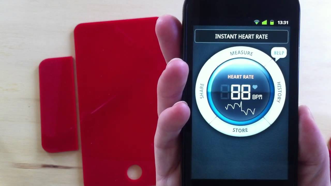 Instant Heart Rate for Android: Demo
