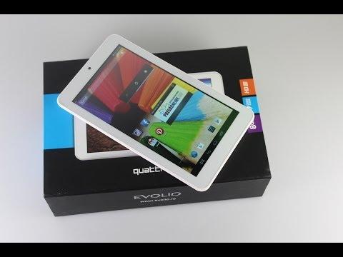 Evolio Quattro HD - unboxing și primele impresii