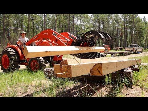One Man Sawmill Operation