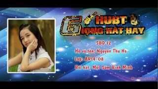 [SBD 12] Nguyễn Thu Hà - Một Sớm Bình Minh