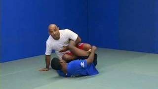 BJJ – Passing Open Guard – Footlock