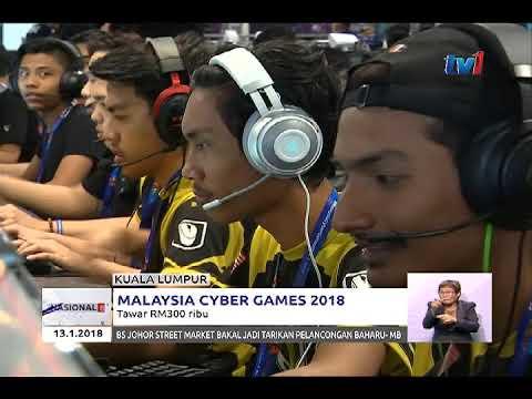 MALAYSIA CYBER GAMES – TAWAR RM300 RIBU [13 JAN 2018]